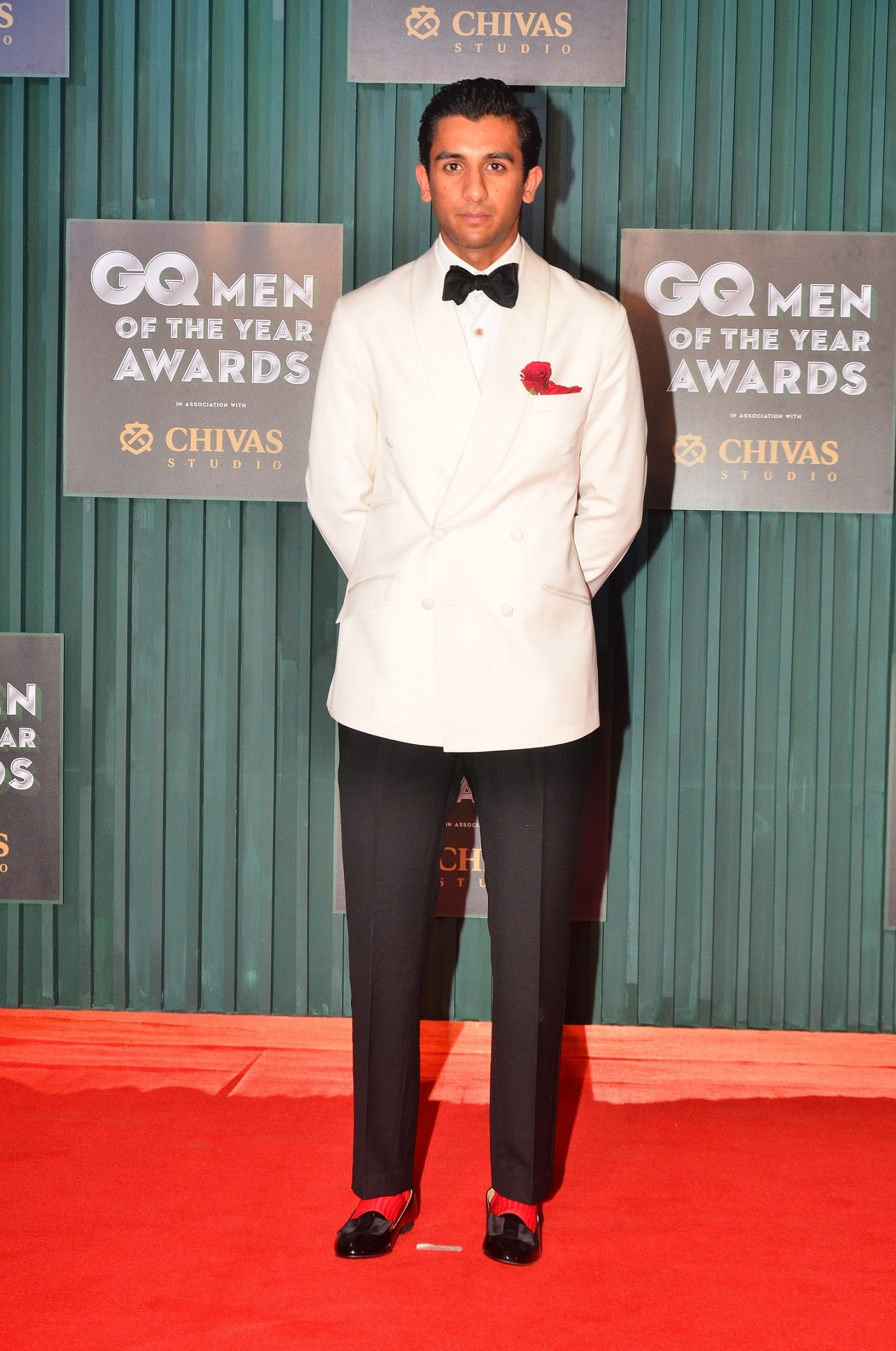 Winner - Most Stylish, Padmanabh Singh at the GQ Men of The Year Awards 2018