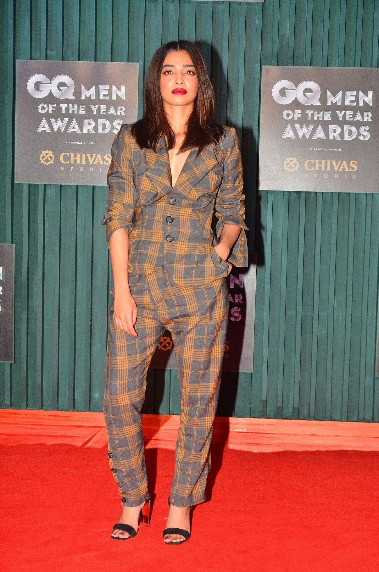 Winner - Woman of the Year, Radhika Apte at the GQ Men of The Year Awards 2018