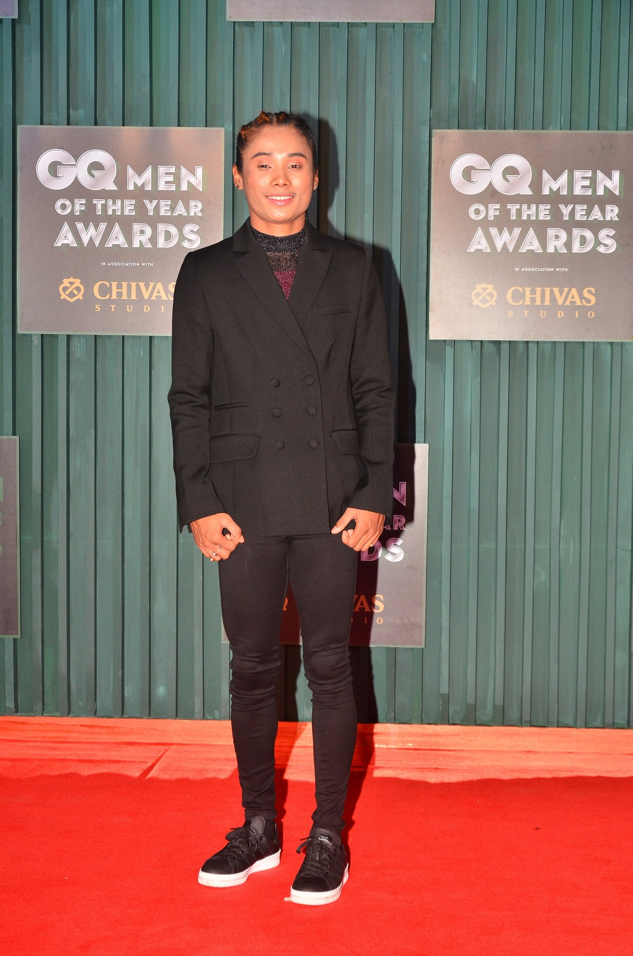 Winner - Young Indian of the Year, Hima Das at the GQ Men of The Year Awards 2018
