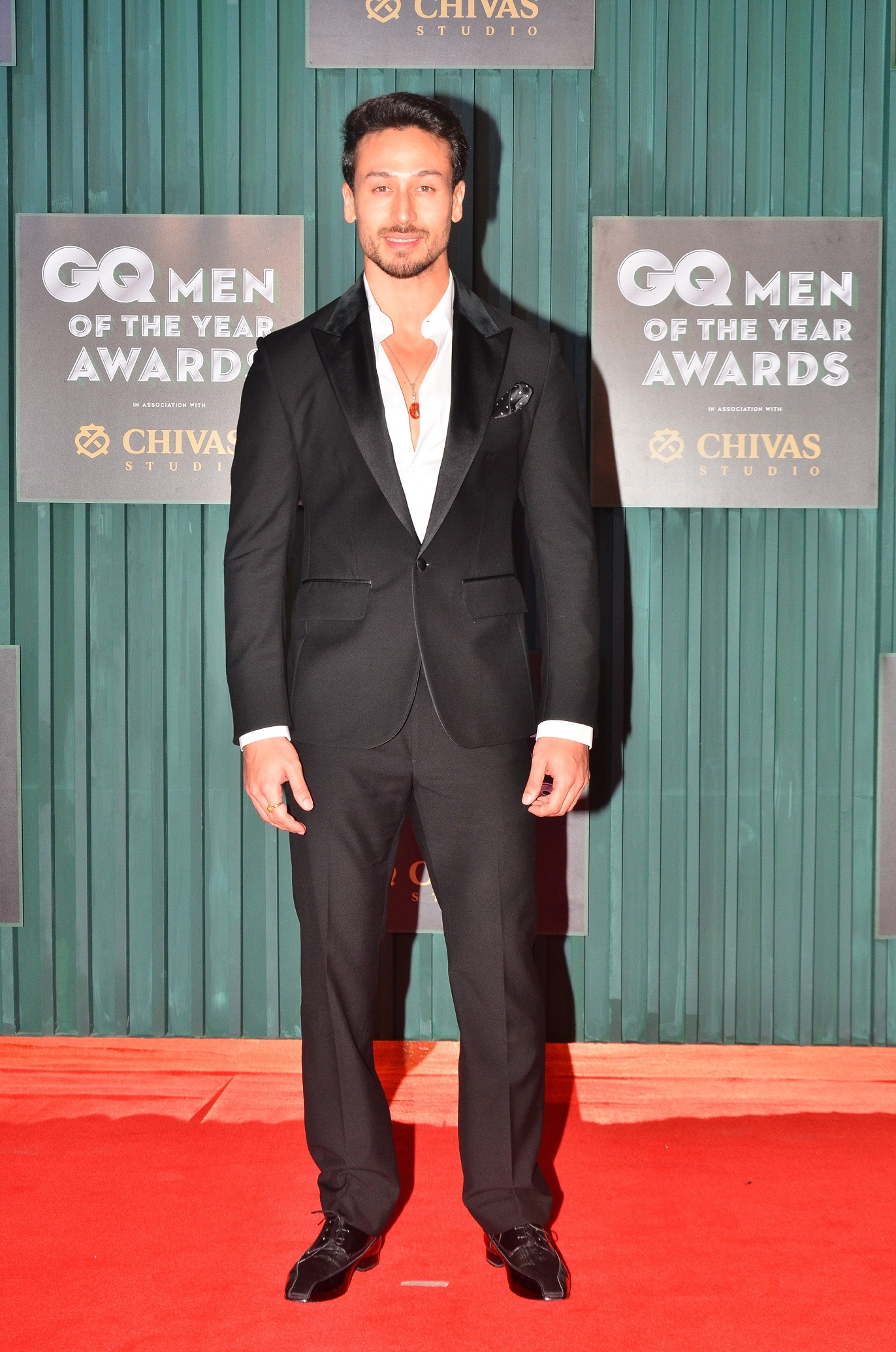 Winner - Entertainer of the Year, Tiger Shroff at the GQ Men of The Year Awards 2018