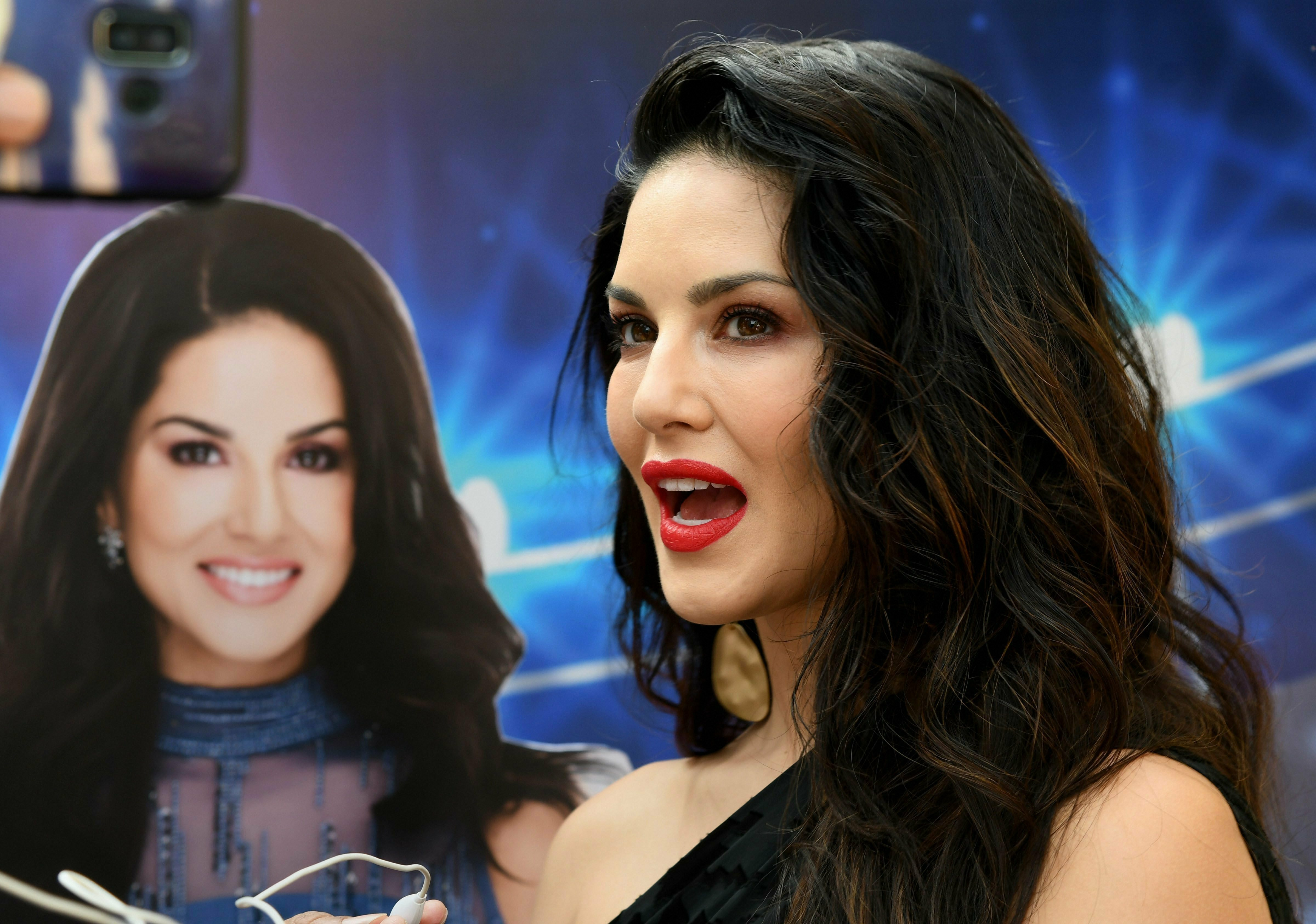 Bollywood actor Sunny Leone at the launch of a sports portal, in Mumbai - PTI