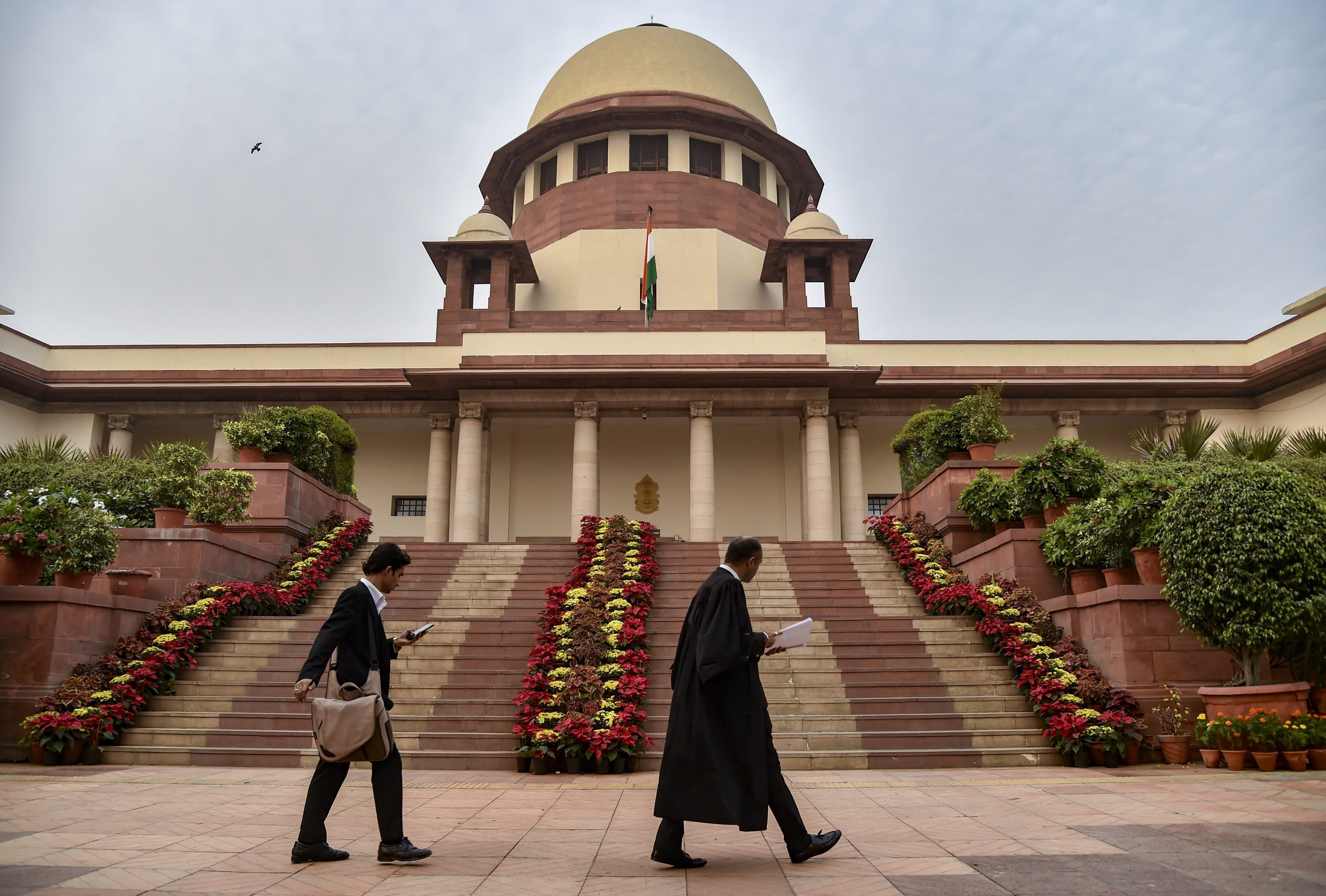 A view of Supreme Court of India in New Delhi - PTI