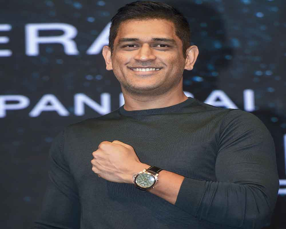 Indian cricketer Mahendra Singh Dhoni at the launch of Panerai watches in Mumbai - PTI