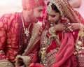 Today's Photo : First Picture of Deepika Padukone, Ranveer Singh as a married couple