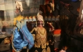 Today's Photo : Indian artists dress up for