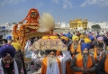 Today's Photo : Sikh devotees participate in a nagar kirtan in Amritsar