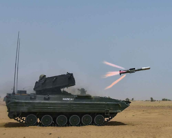 Today's Photo : Army conducts successful trials of NAG missiles