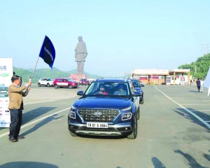 Great India Drive from iconic Statue of Unity